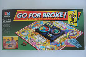 Go For Broke Board Game By MB Games