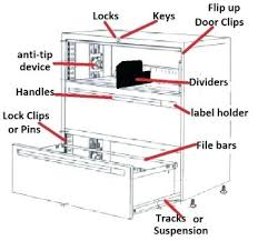 Hon Filing Cabinet Lock Kit by Hon Lateral File Cabinet Lock Parts Hon Lateral File Cabinet
