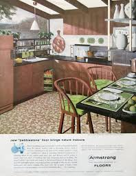 1957 Armstrong Floors Ad