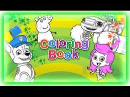 Nick Jr Coloring Book Game
