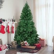 Mini Fiber Optic Christmas Tree Walmart by 6 U0027 Premium Artificial Christmas Pine Tree With Solid Metal Legs