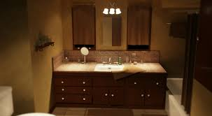 Chandelier Over Bathroom Sink by Bathroom Awesome Bathroom Lighting Featured Chandelier Over