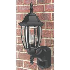 heath zenith motion activated incandescent outdoor wall light