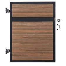 Trex Decking Pricing Home Depot by Composite Fence Gates Composite Fencing The Home Depot