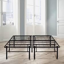 King Bed Frame Metal by Rest Rite 18 In King Metal Platform Bed Frame Hdbb441ek The