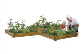 gronomics one level modular raised garden bed mrgb 1l 48 48