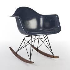100 Navy Blue Rocking Chair Original Herman Miller Eames RAR Arm 87399