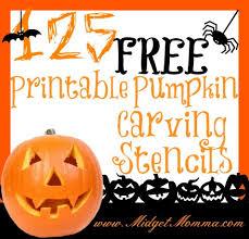 Halloween Stencils For Pumpkins Free by Free Pumpkin Stencil Printables
