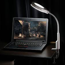 Lighted Magnifier Desk Lamp by New Lighted Magnifier Desk Table Lamp Magnifying Glass With Clamp