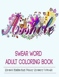 Adult Coloring Books Swear Word
