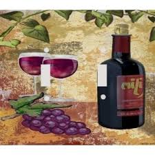 Tuscan Wine And Grape Kitchen Decor by 39 Best Grape Kitchen Ideas Images On Pinterest Wine Decor