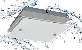 trango led deckenleuchte 3102 ip44 led deckenstrahler eckig aus metall mit kristalleffekt glas lenschirm in 3 stufen dimmbar badezimmer