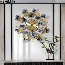 3d kreative runde uhr wand modernes design wanduhr hause zimmer metall wand dekor wohnzimmer hause dekoration hängen 64369