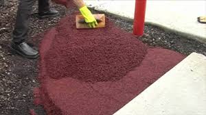 Poured Rubber Flooring Residential by Poured Rubber Flooring Cost Carpet Vidalondon