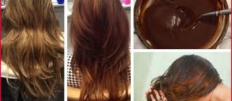 Top Coffee Color Hair Image Of Tips