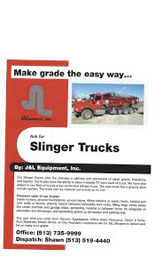 Jerry Kunz - Owner - J&L Equipment, Inc | LinkedIn New Bright 16 Rc Ff 96v Offroad Mud Slinger Truck Multicolor Stone Slinger Slingers Are Essentially Dump Trucks W Flickr Advanced System Achieves Lower Costs Plus Herpa Promotex Shapeways Ho Scale 187 2019 Mack Gr64b Slinger Aggregate Spreader Nanaimo Bc Kenworth Dump Trucks For Sale 20 Tonne Hbye Cstruction Montana Cad Hire A Truck Or Stone Thrower From Sand To You Rock And Gravel Placement Using Ground Solutions Tri City Ready Mix Slingerbydahms Twitter