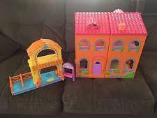 Dora The Explorer Talking Kitchen Set by Fisher Price Dollhouse Dora The Explorer Toys Ebay