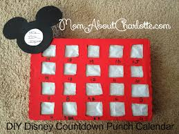 Halloween Express Northlake Mall Charlotte Nc by Diy Disney Punch Countdown Calendar Mom About Charlotte