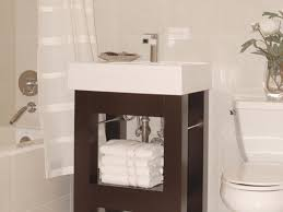 Narrow Bathroom Ideas Pictures by Small Bathroom Vanities Hgtv