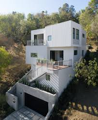 100 Downslope House Designs Los Angeles Architects Develop Their Own Speculative Residential