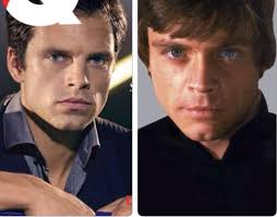 Fan Posts Message To Sebastian Stan On Instagram Commenting His Resemblance Mark Hamill And Suggesting He Should Be In Star Wars