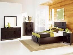 magnussen furniture nova 4 piece island bedroom set in chestnut