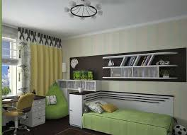 Boy And Girl Bedroom Decorating Intwo Colors