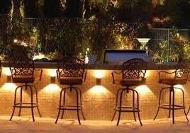 Superb Outdoor Kitchen Lighting Ideas Bar