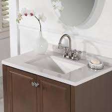 Glacier Bay Bathroom Vanity With Top by Glacier Bay Delridge 30 In W X 19 In D Bath Vanity In Flagstone