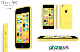 Yellow Apple iPhone 5C 32GB Cheap Contract Prices – Best Deals