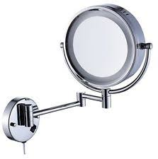 cavoli lighted bathroom makeup mirror with led light wall mount