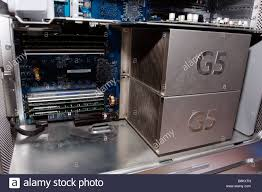 100 G5 Interior Of An Apple PowerMac Late 2004 Dual 2gHz Side Door
