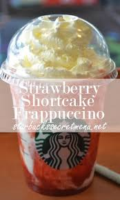 Starbucks Strawberry Shortcake Frappuccino