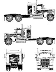 Blueprints > Trucks > Ford > Ford LTL 9000