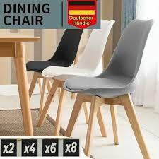 2 4 6 8 set esszimmerstühle wohnzimmerstühle küchenstuh