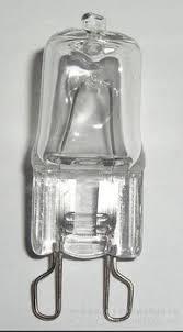 china sale clear frosted g9 halogen light bulbs 24v 220v 230v