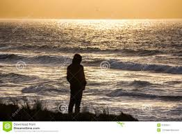 Staring Out To Sea