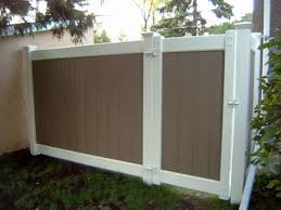 borg fence and decks torrance ca vinyl fence materials in ca fences