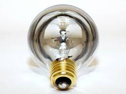 westinghouse 25w 120v g25 half chrome globe bulb e26 base 25g25
