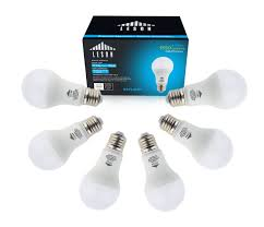 100 watt equivalent leson led light bulbs e26 a19 1550lm 13w