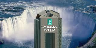 Skylon Tower Revolving Dining Room Reservations by Embassy Suites By Hilton Niagara Falls Fallsview Hotel Canada