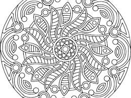 Adult Mandalas Colouring Pages