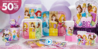 Halloween City Mcallen Tx Hours by Disney Princess Party Supplies Princess Party Ideas Party City