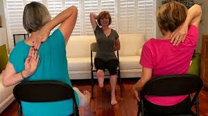 FAU Researchers Find Chair Yoga Is Good Medicine For Seniors - Sun ... Yoga For Seniors Youtube Actively Aging With Energizing Chair Get Moving Best Of Interior Design And Home Gentle Midlifers Look No Hands Exercises For Ideas Senior Fitness Cerfication Seniorfit Life 25 Yoga Ideas On Pinterest Exercises Office Improve Your Balance Multimovements Led By Paula At The Y Ymca Of Orange County Stay Strong Dance Live Olga Danilevich Land Programs Dorothy C Benson Multipurpose Complex Tai Chi With Patience
