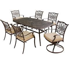 Hanover Traditions 7 Piece Outdoor Dining Set