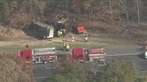 100 Dump Truck Crash Causing Traffic Backup On Route 55 In Harrison