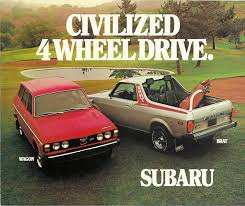 1978-subaru-brat-pickup-truck - The Fast Lane Truck Fun On Wheels The Subaru Brat Is Too To Exist Today Tt2 Sambar Truck Wr Blue Impreza Pickup With Added Turbo Takes On Bonkers File1989 Brumby Utility 20100519 02jpg Wikimedia Commons 1981 Brat Pickup Truck Item Dc3744 Sold November 1983 Gl For Sale Near Alsip Illinois 60803 Classics Rare 1969 360 Pickup Vintage Drive Inapicious Roots Motor Trend 2019 Tough Engine Capabilty Much Better 110 Offroad 2wd Kit By Tamiya