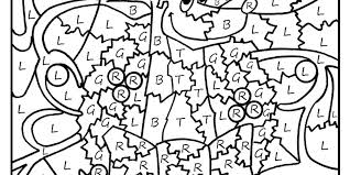 Color By Number Pages Free Feat Printable Coloring