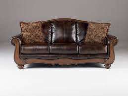 Claremore Antique Sofa And Loveseat by Sofas