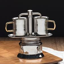 Stainless Steel Stovetop Espresso Maker By Garrett Wade 90 Day Money Back Guarantee Free Returns